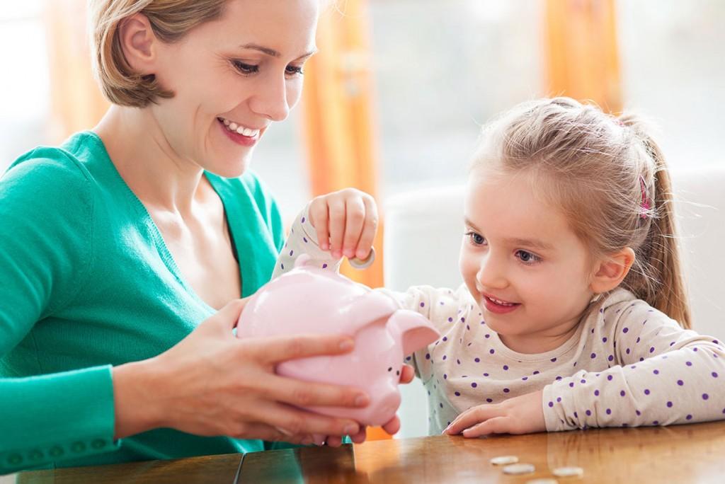 El ahorro es cosa de niños