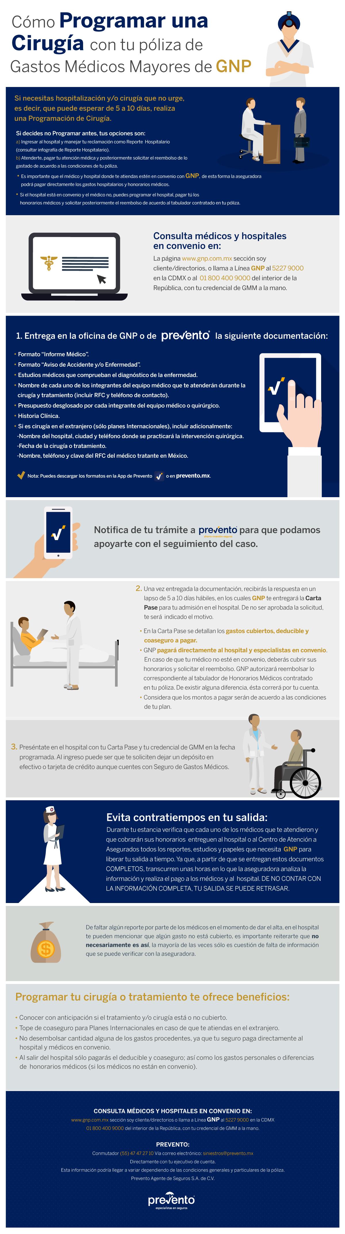 Infografía Programación de Cirugía