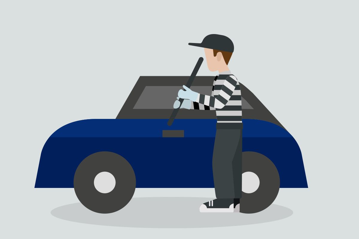 Infografía Robo Total de Automóvil